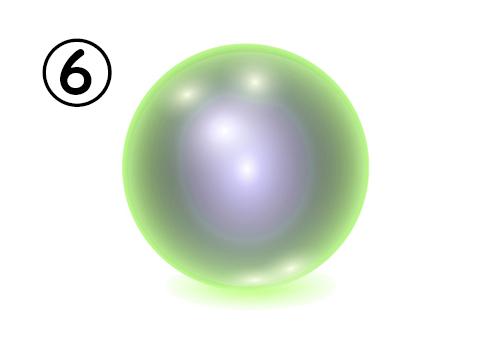 ⑥の神秘球体