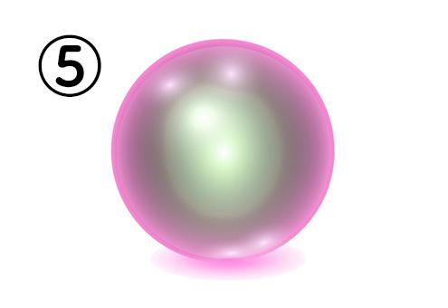 ⑤の神秘球体