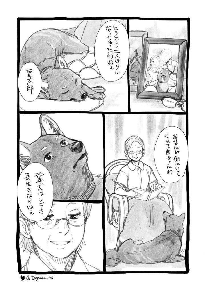 少女とちょっと変わった犬2-2