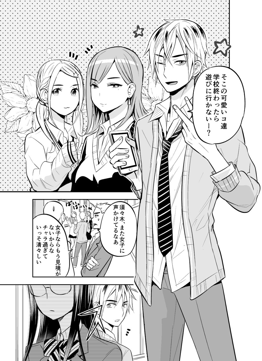 チャラ男くんのお勉強☆1