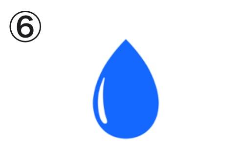 水滴 第一印象 心理テスト
