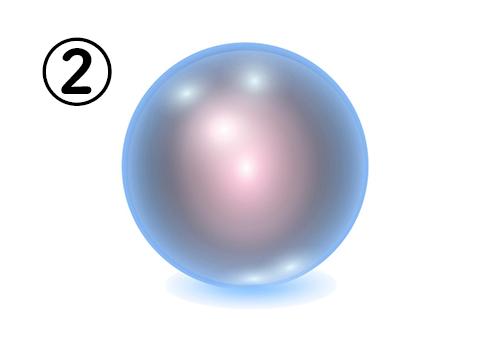 ②の神秘球体