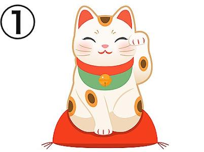 招き猫 注目 心理テスト