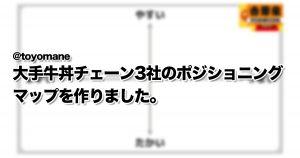 吉野家・すき家・松屋!みんな大好き「牛丼チェーン」の魅力 7選