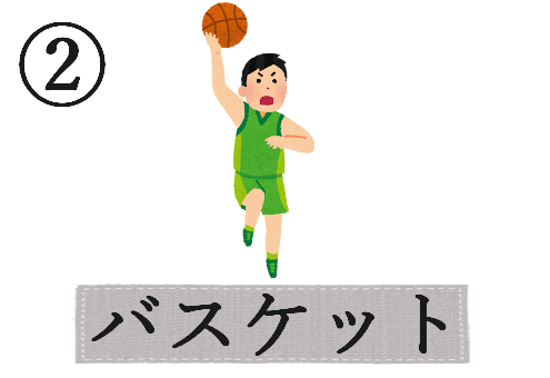 球技 今年 やるべき 心理テスト バスケ