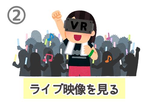 VR オタク 性格 心理テスト ライブ
