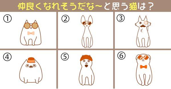 【心理テスト】今のあなたの「心の余裕レベル」を診断。仲良くなれそうな猫は?