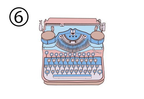 タイプライター 文章 特徴 心理テスト