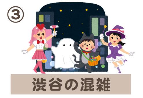 ハロウィン 娯楽 心理テスト 渋谷