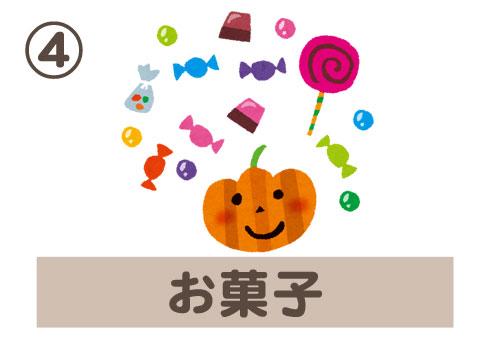 ハロウィン 娯楽 心理テスト お菓子