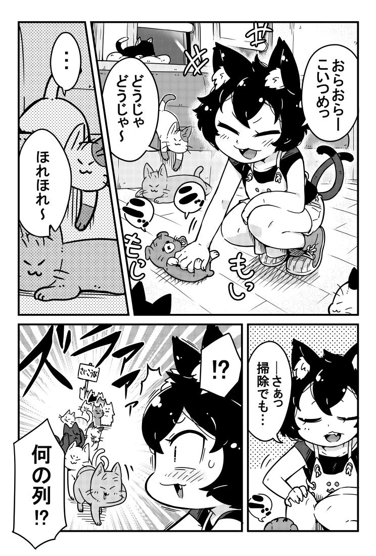 猫カフェの店長のお話5-1