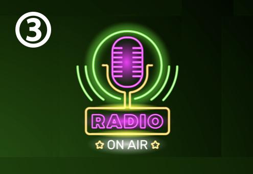 ラジオ ネオンサイン 本番 心理テスト