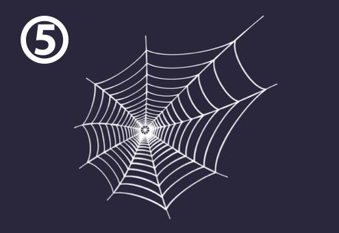 蜘蛛の巣 ハプニング 遭遇 心理テスト