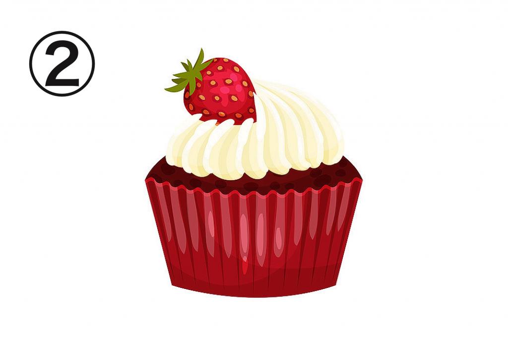 カップケーキ ビビる 心理テスト