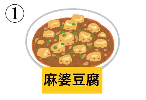 中華料理 キャラの濃さ 心理テスト 麻婆豆腐