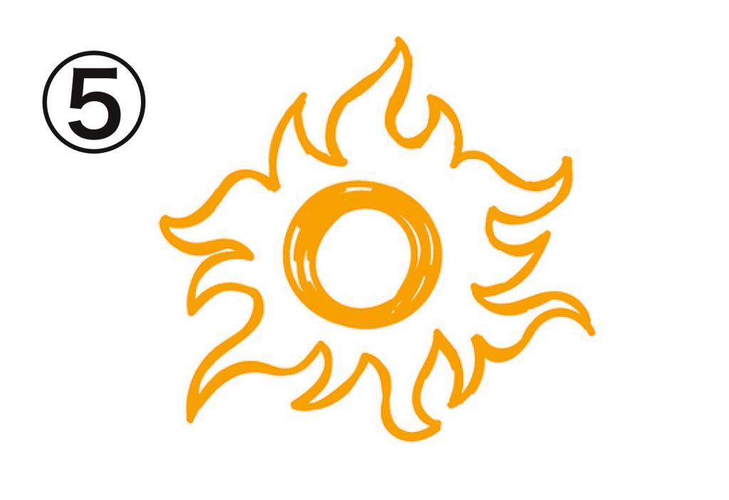 太陽 笑顔の源 心理テスト