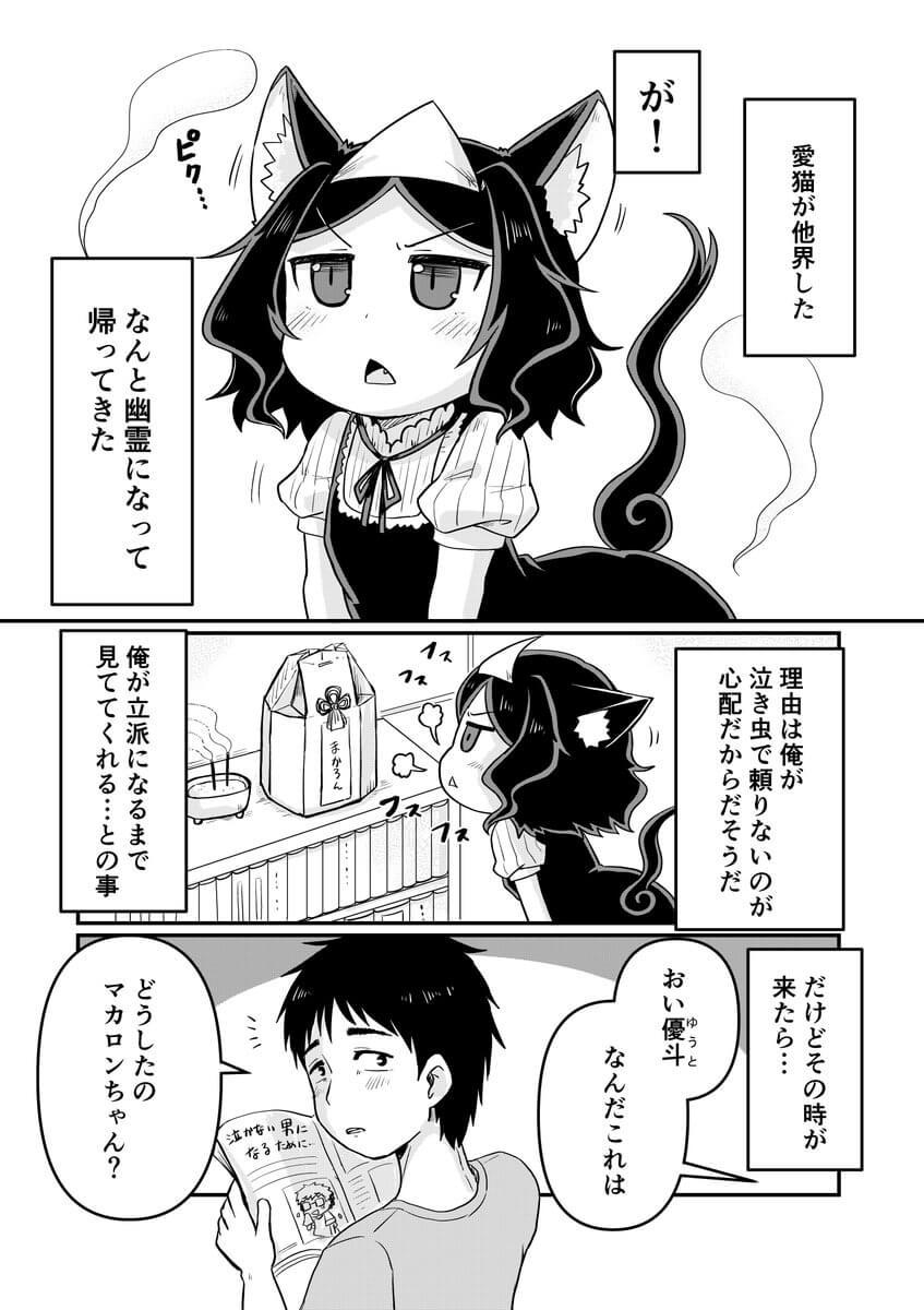 愛猫が幽霊になった2-1