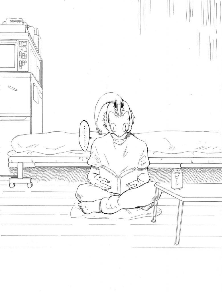 嵐の日にトカゲが家に迷い込んだ話5-2