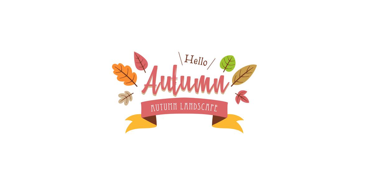 秋 Autumn ロゴ 好きなもの 心理テスト