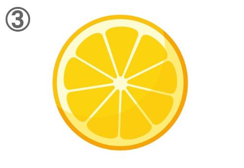 フルーツ 断面 惚れる 心理テスト オレンジ