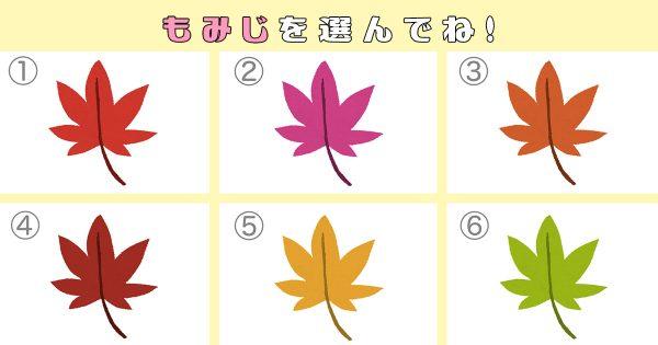 【心理テスト】あなたの性格を判断する「秋の紅葉」色づき診断!