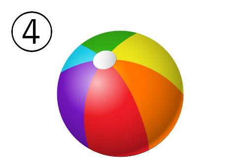ボール 防寒アイテム 心理テスト ビーチボール