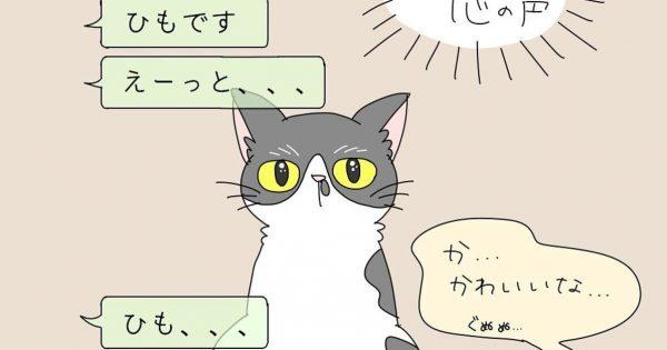 【※可愛すぎて迷惑】夫が「ペットの心の声」をLINEで送ってくる件
