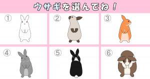 【心理テスト】あなたは「意外と寂しがり屋?」ウサギの種類を選ぶとわかる…