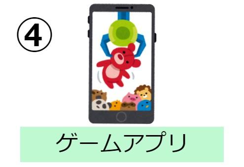 アプリ スマホ 栄養素 性格 心理テスト ゲーム