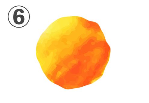 水彩 柑橘 性格 心理テスト
