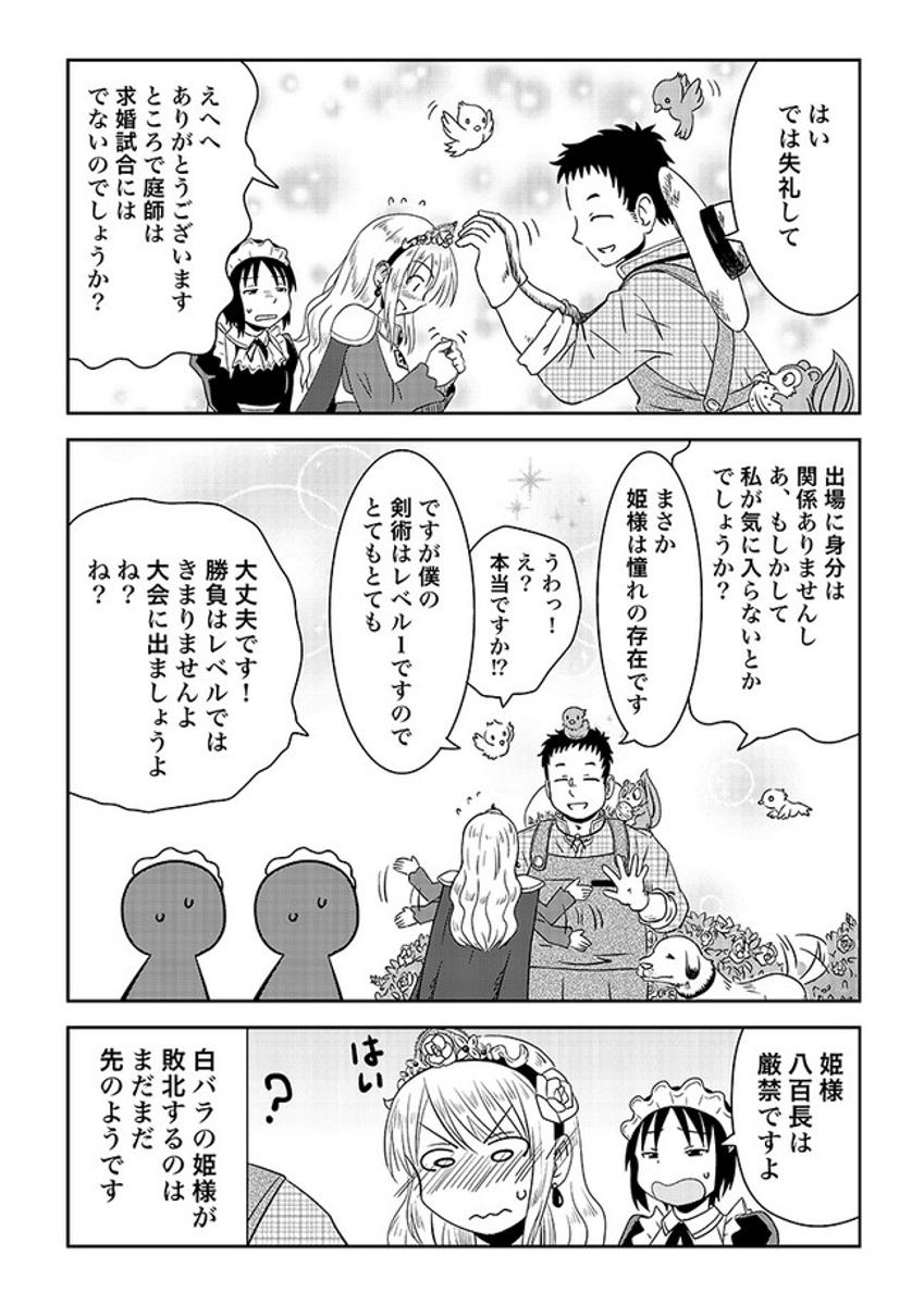 最強の姫騎士と白バラ1-4