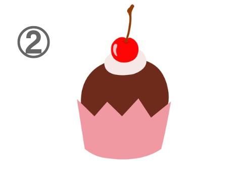 カップケーキ 無理しがち 心理テスト