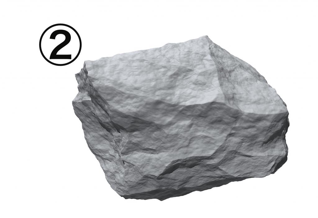 岩 怒る 心理テスト