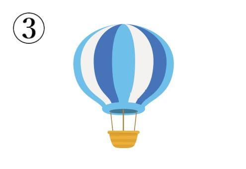 気球 お布団 心理テスト