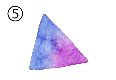水彩 三角 大人買い 心理テスト
