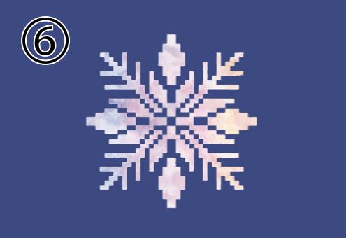 雪 結晶 几帳面 心理テスト