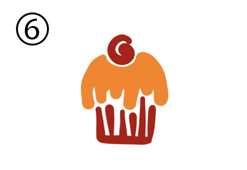 カップケーキ 展開 シーン テンション 心理テスト