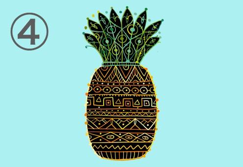 パイナップル 能力 心理テスト