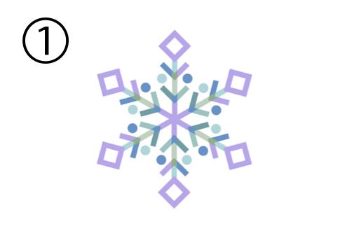 雪 結晶 笑顔 印象 心理テスト