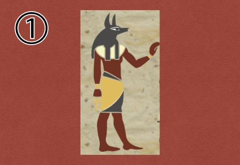 エジプト 壁画 足かせ 心理テスト