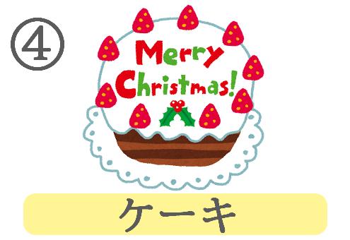 クリスマス イメージ 趣味 心理テスト ケーキ