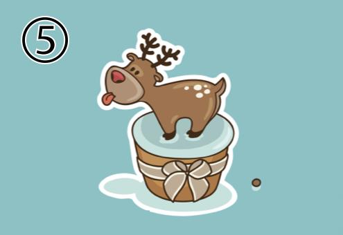クリスマス カップケーキ イベント 心理テスト