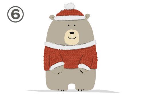 クリスマス サンタ クマ 心理テスト
