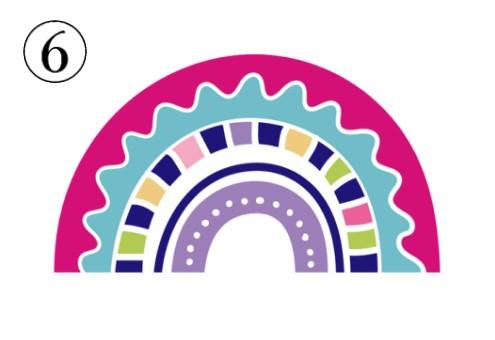虹 性格 合わせる 心理テスト