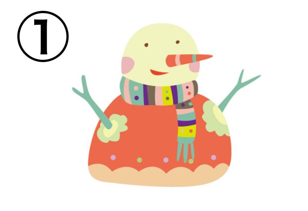 雪だるま 派手 行動年齢 心理テスト