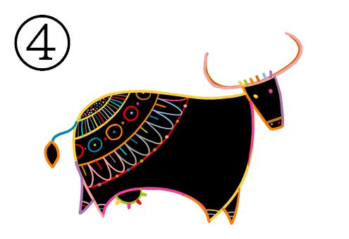 牛 突進力 心理テスト