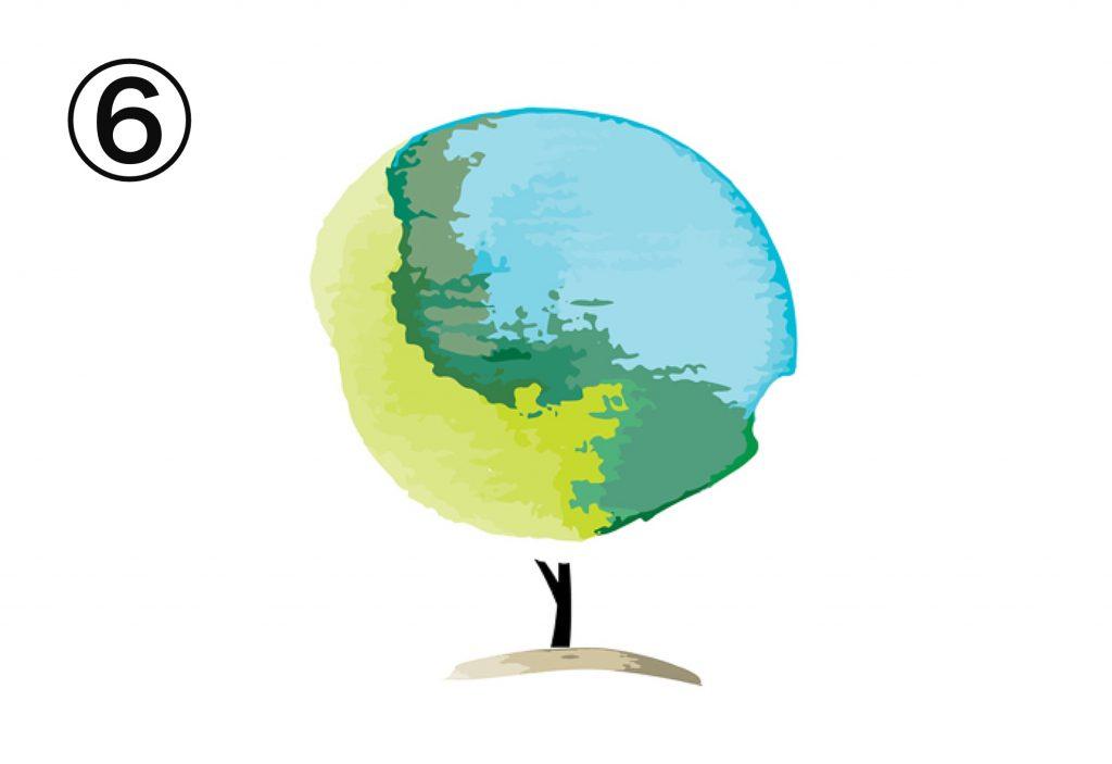 水彩 木 潜在 適職 心理テスト
