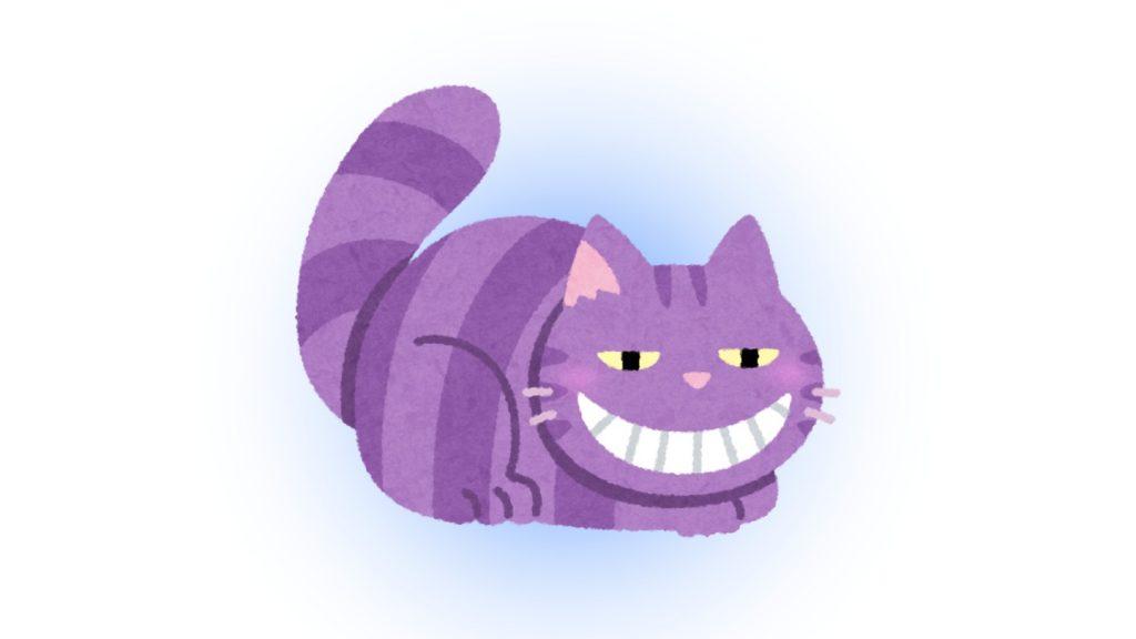 フレーム 猫 性格 例える 心理テスト チシャ猫
