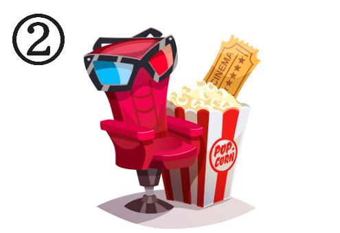 映画館 考察 心理テスト