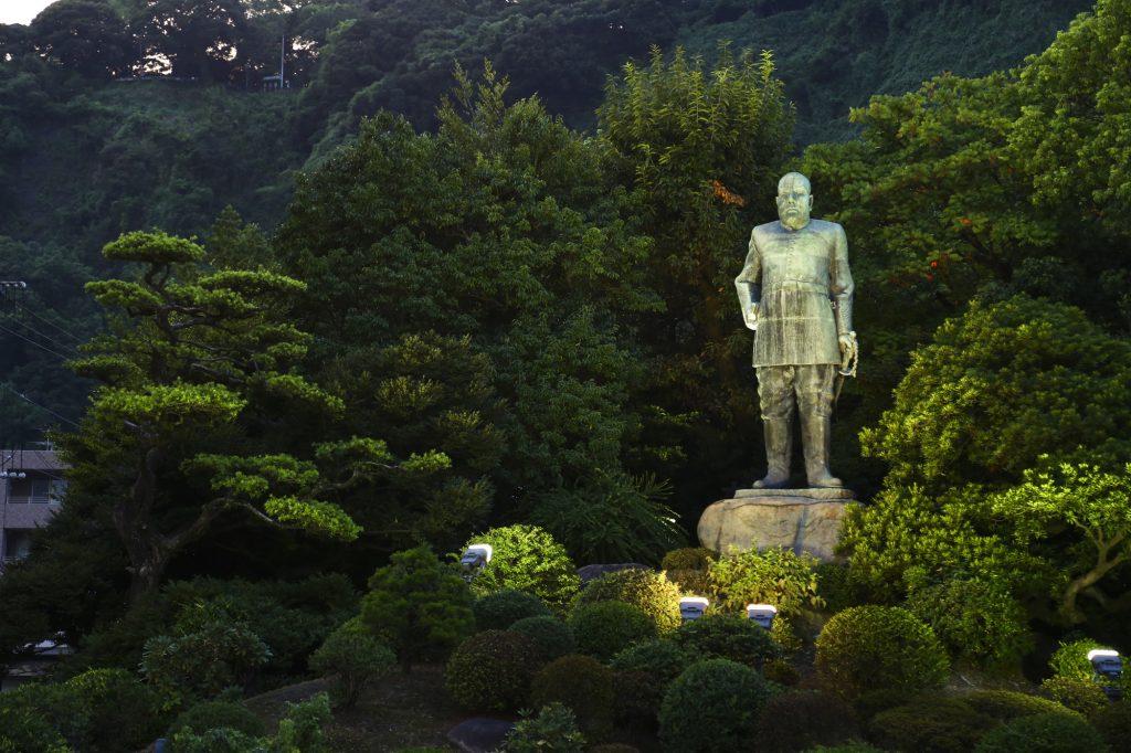 西郷隆盛の銅像(鹿児島市)